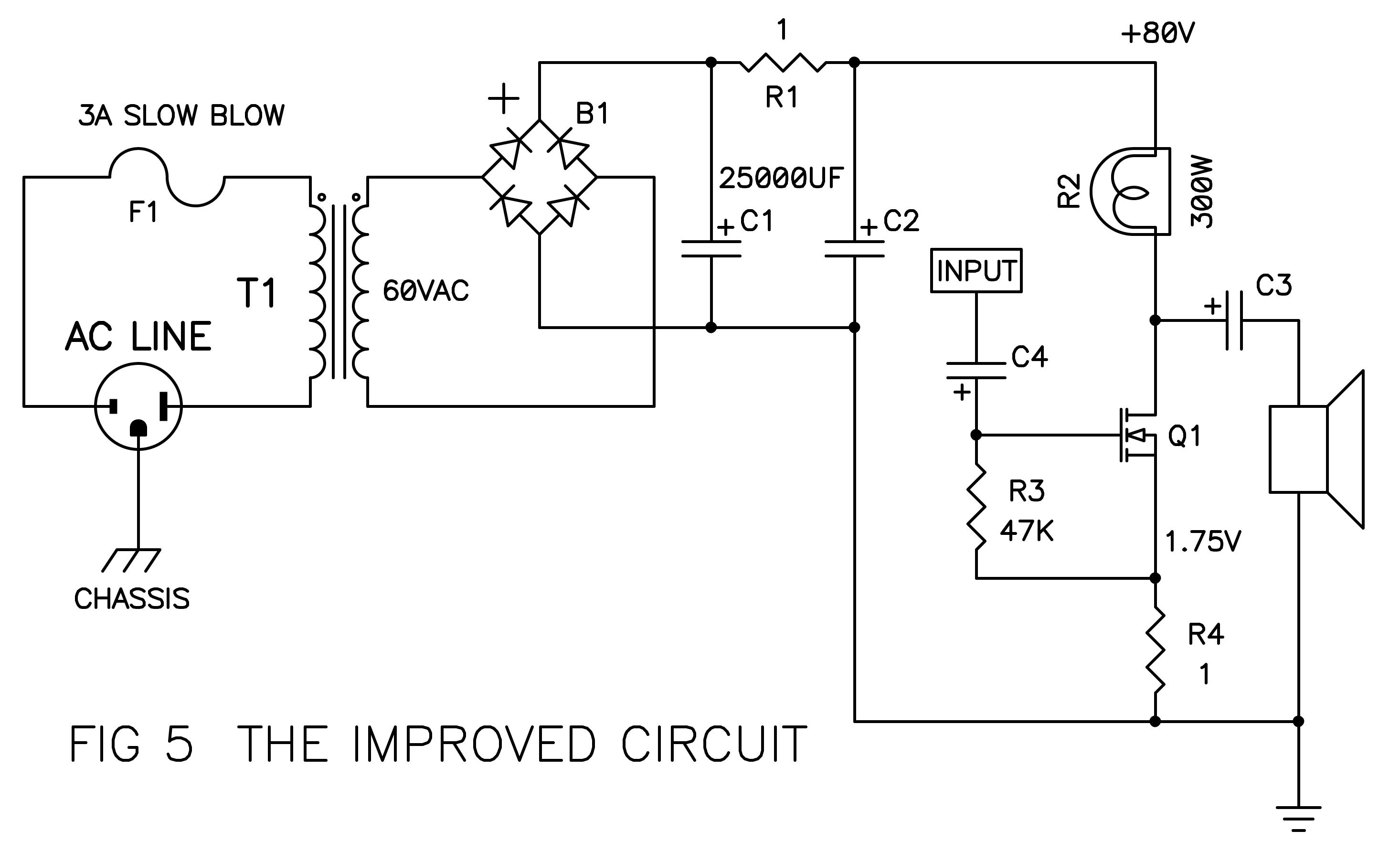 De Lite Amplifier Diyaudio Simple Audio Preamplifier Circuit Using Single Transistor 2n3904