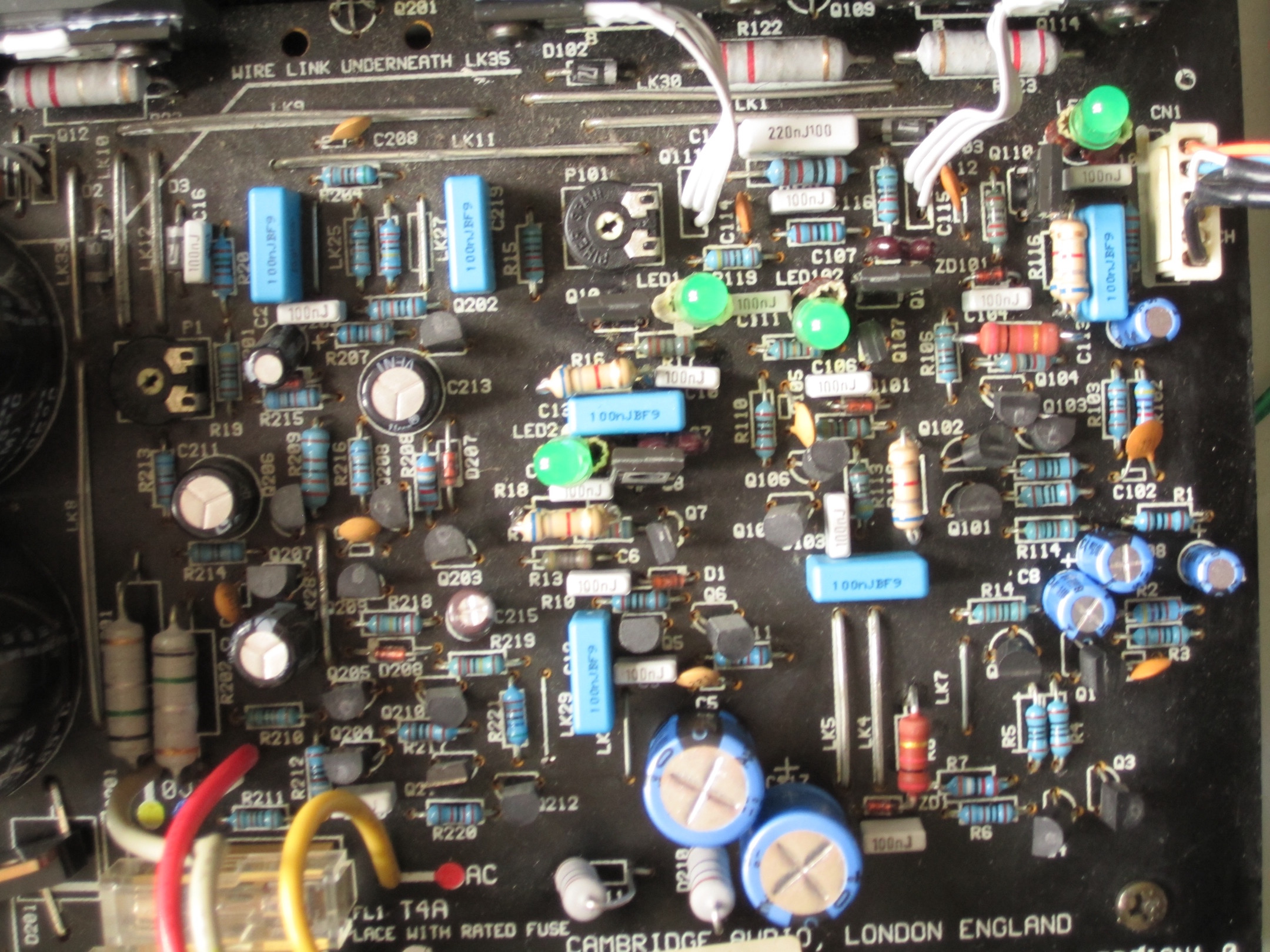 Diyaudio Solid State Power Amps Circuits 8085 Projects Blog Archive A Digital Timer Circuit Restored And Modded Cambridge Audio A3i