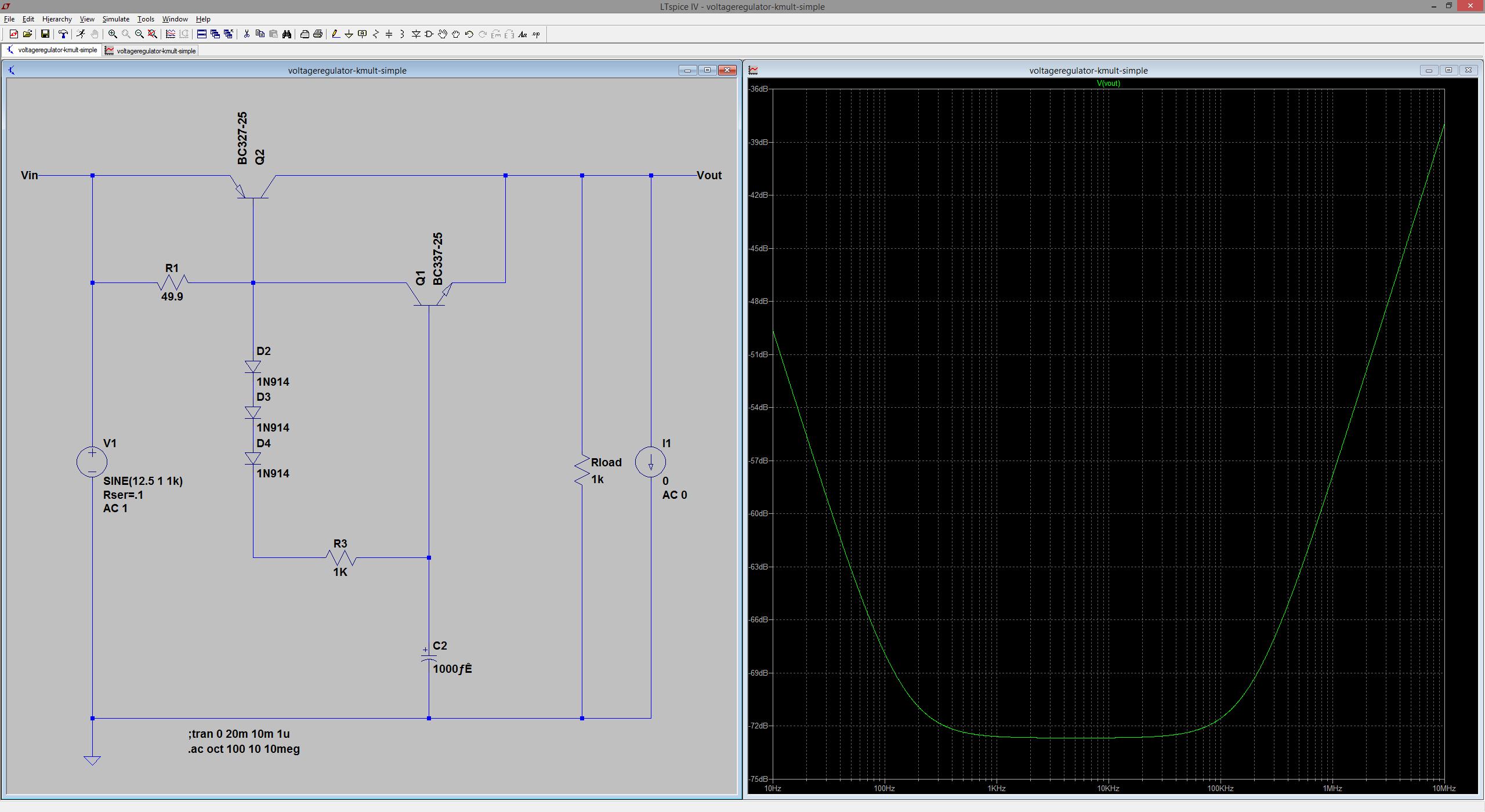 Diyaudio Voltage Regulators 12 Volt Regulator Circuit Diagram Also Lm317 For Line Level Audio Part Vii The K Multiplier