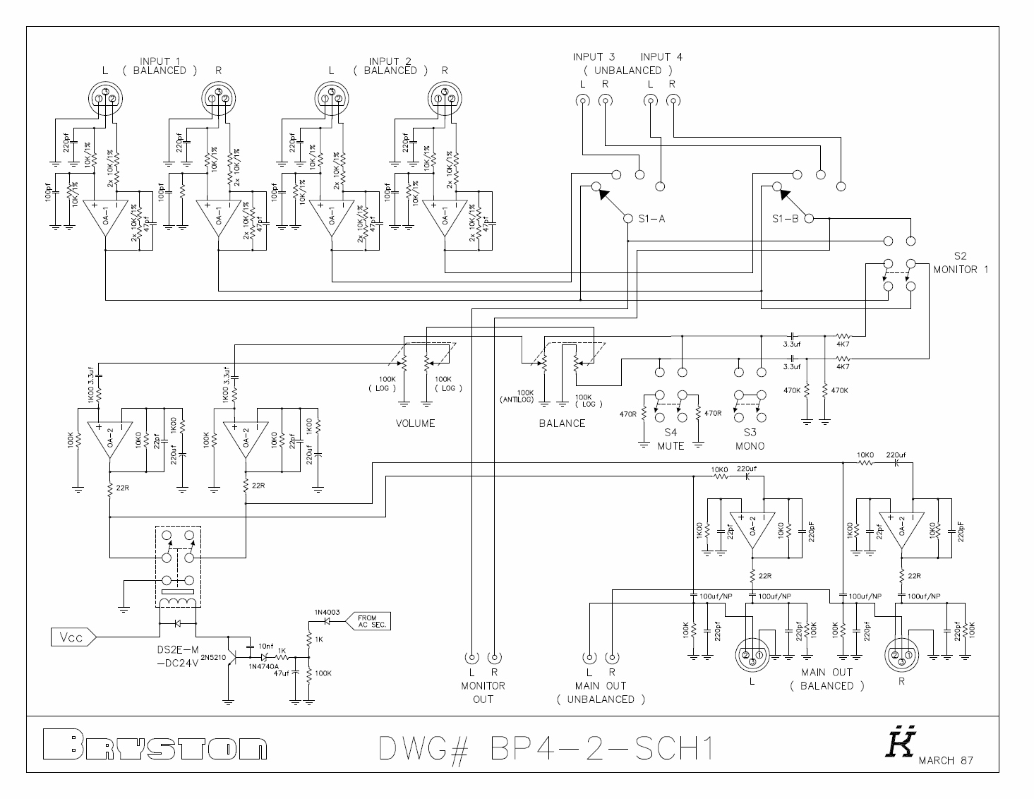 Audio Op Amp Idea Di Immagine Auto Inverting Buffer With Opamps Electrical Engineering Stack Amps Diyaudio