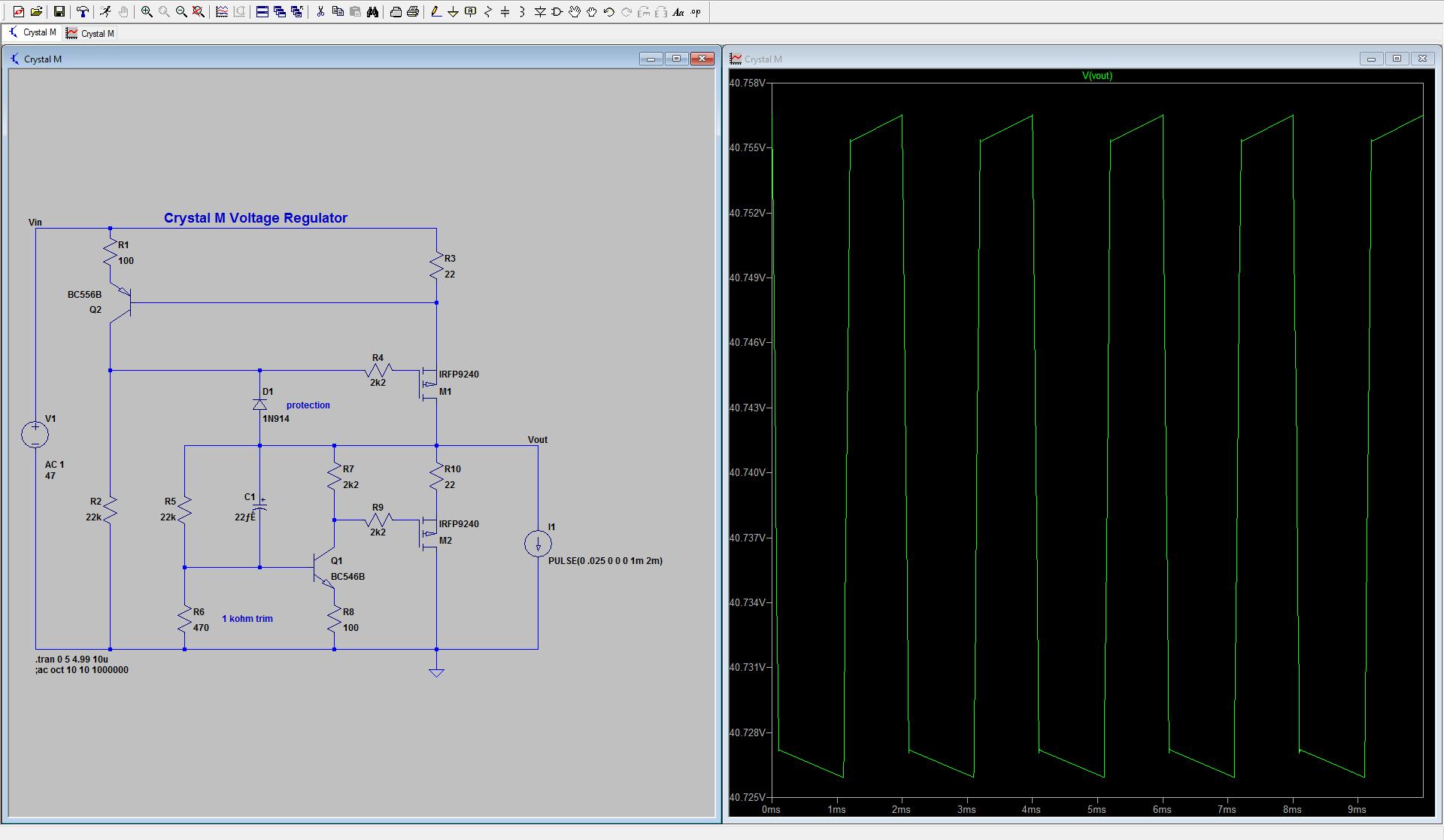Diyaudio Voltage Regulators Circuit Diagram Zener Diode Regulator Click Image For Larger Version Name Crystal M Views 1300 Size