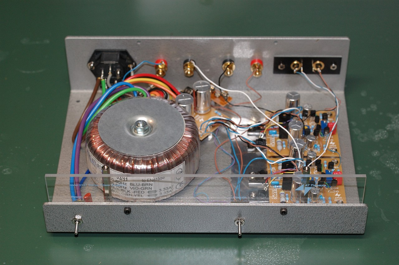 Diyaudio Rjm Audio Blog Powerful Headphone Amplifier Using Opa134 47 Labs Treasure 0347 Trials And Tribulations