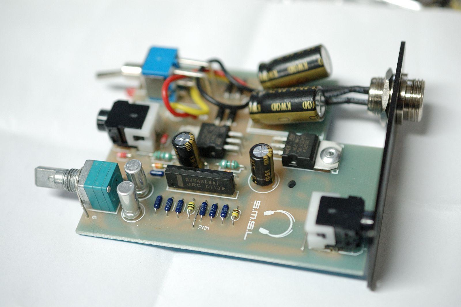 Modification Of The Smsl Sap Vi Headphone Amplifier Diyaudio Circuit