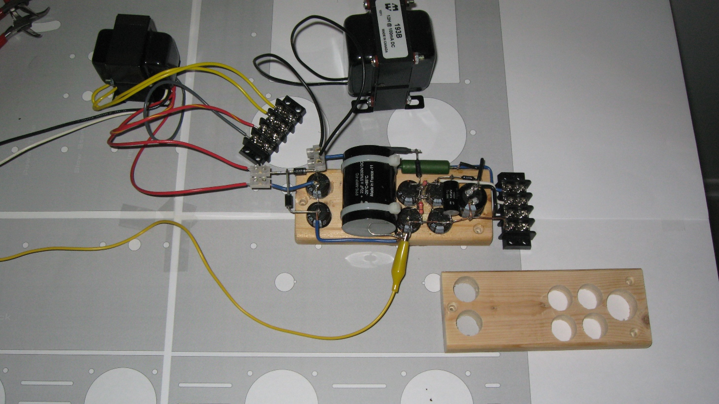 Diyaudio Uncategorized Tube Amp Wiring Click Image For Larger Version Name Small Anode Power Modules Building
