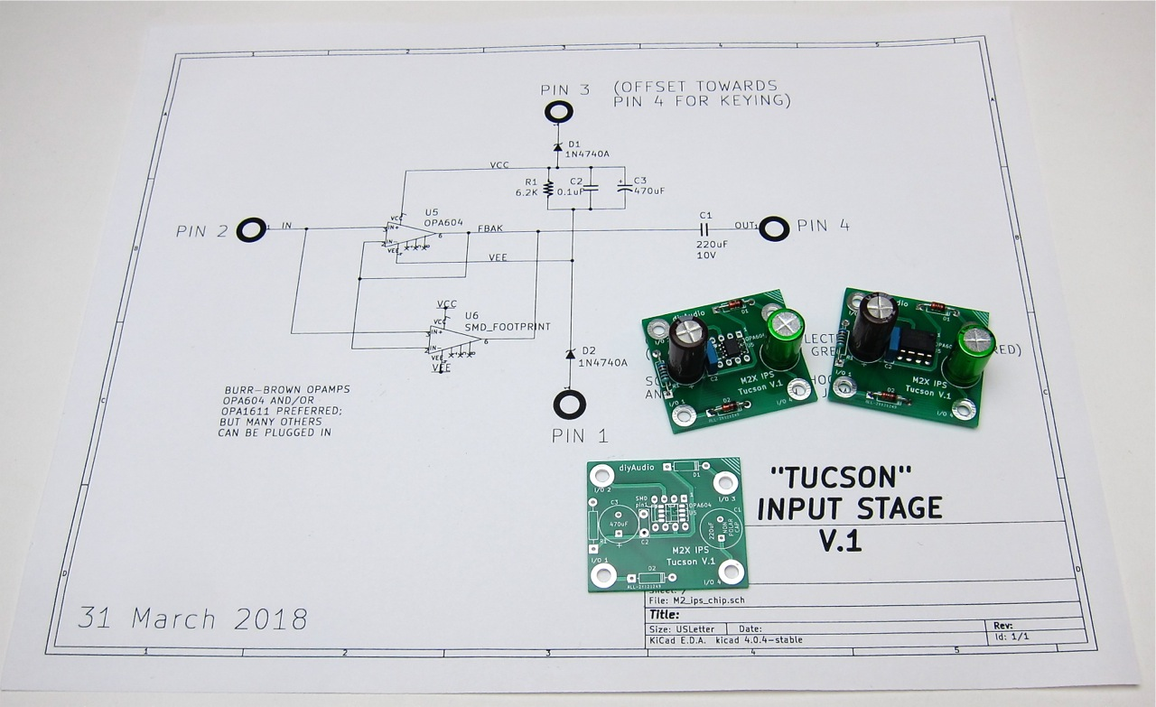 The Diyaudio First Watt M2x In This Project A 2transistor Amplifier Is Built On Section Click Image To Open Full Size