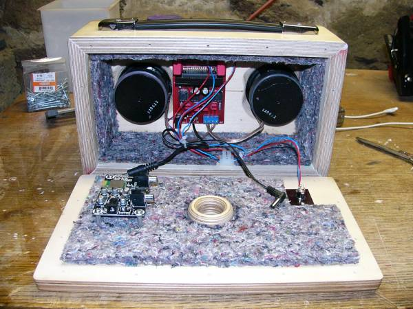 Diy Bluetooth Boombox Inside View My Photo Gallery