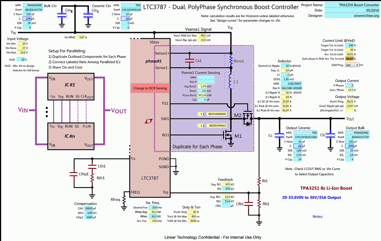 LTC3784 2/4-Phase Boost Converter for up to 55V Output 600/1200W (TPA3251, TPA3255)-59_ltc3787_schematic-png