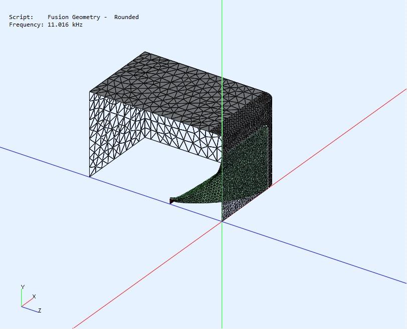 2 way waveguide speaker build ABEC modelling-abec-base-model-jpg