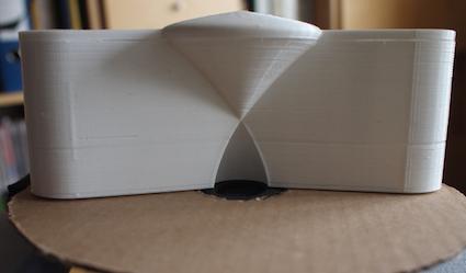 Cloning a 00 Speaker for 0-acoustic-lens-printed-model-png