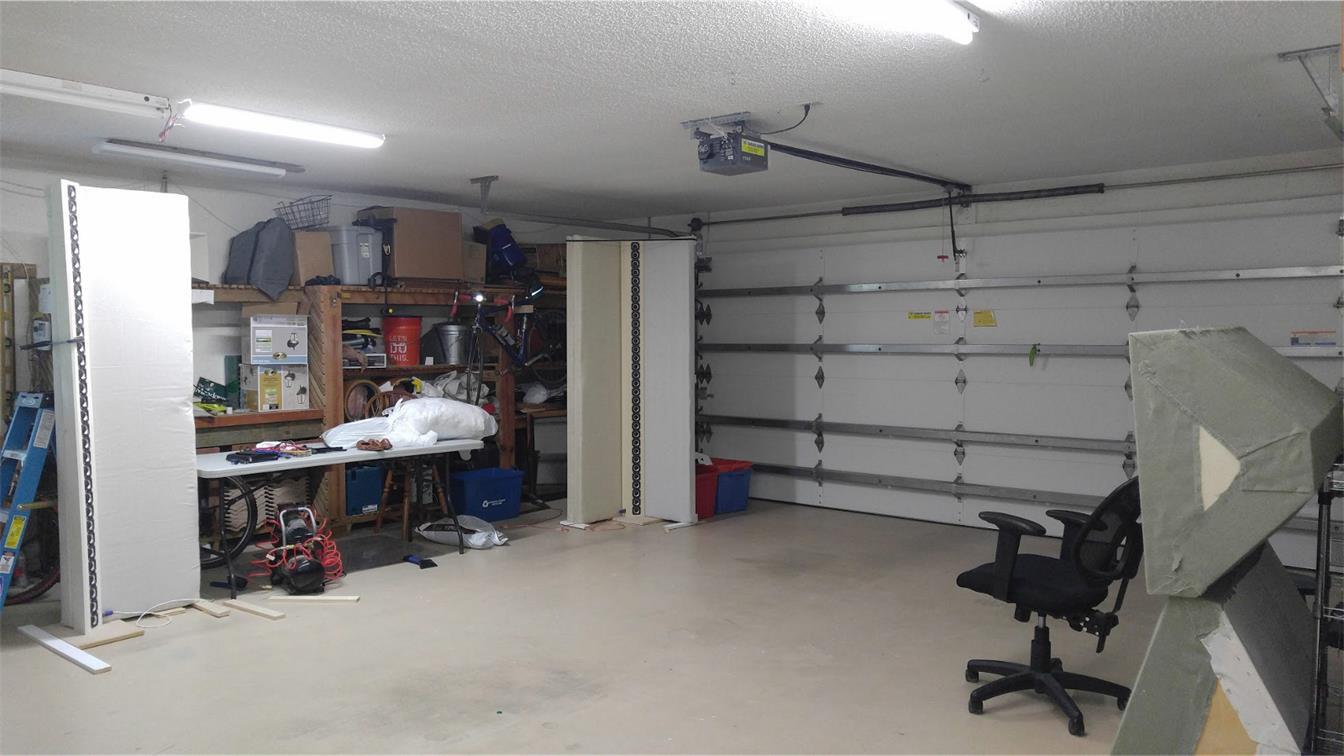 Full range line array for wall or corner placement-garage-jpg