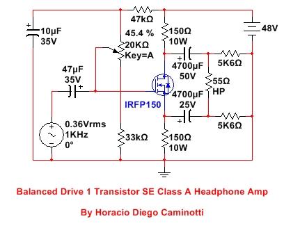 Balanced Drive 2 Transistor SE Class A Headphone Amp-bd1tseha-jpg