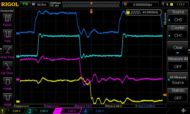 Arduino controlled dual mono AK4490 DAC-flip-flop-amenero-44-1k-png