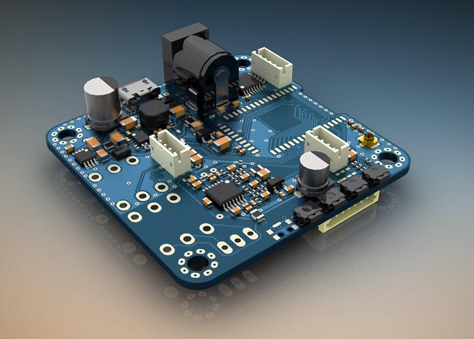 CSR8645 Bluetooth 4.0 AAC APT-X Module / Baseboard-board_top_960-jpg
