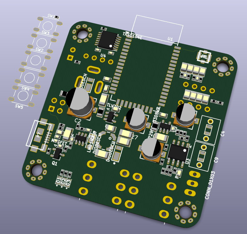 CSR8645 Bluetooth 4.0 AAC APT-X Module / Baseboard-csr8645_module2-jpg