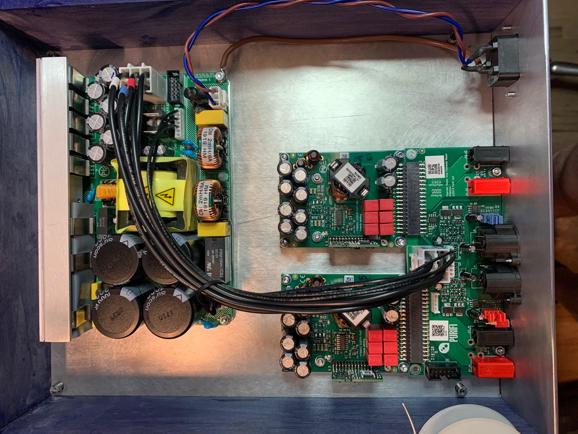Amplificador de Potencia, Ajuda Precisa-se - Página 3 804809d1577412540-brainstorming-purifi-1et400a-amps-img_5277-jpg