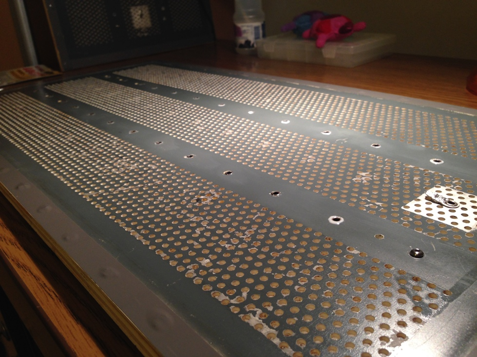 """QUAD ESL 57 A little work on the loudspeaker  """"B""""-img_5831-jpg"""