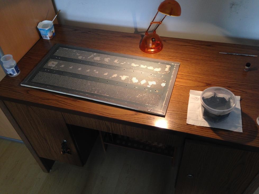 """QUAD ESL 57 A little work on the loudspeaker  """"B""""-img_5837-jpg"""