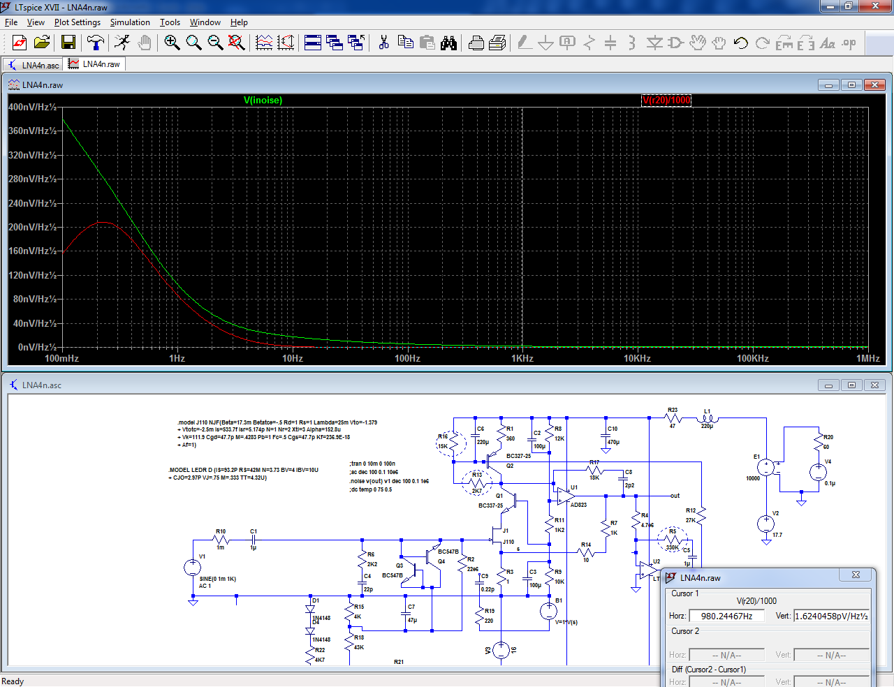 Sanity-check + end-result: a x 1000 measurement preamplifier-lna23-png