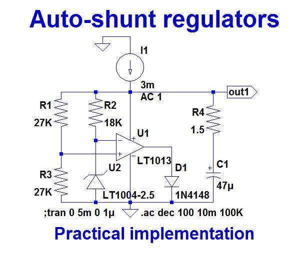 Opamps self-supply with AutoShunt regulators-shuntreg1-png