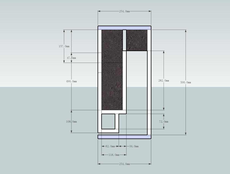 TABAQ bookshelf enclosure design-tangband-w4-1320-tls-2d-sketch-png