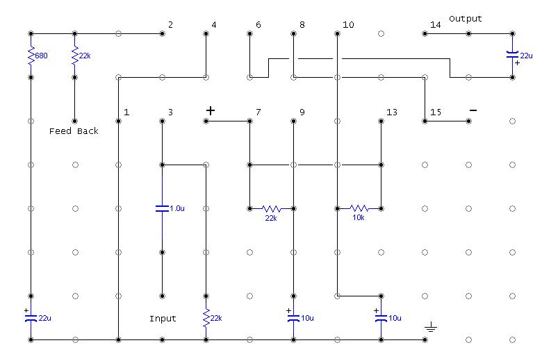 TDA7294 + Power Transistors AMP (TDA7293 to come also)-tda7294-hole-print-png