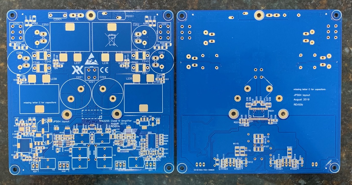 TPA3255 Reference Design Class D Amp GB-tpa3255-pcb-photo-01-jpg